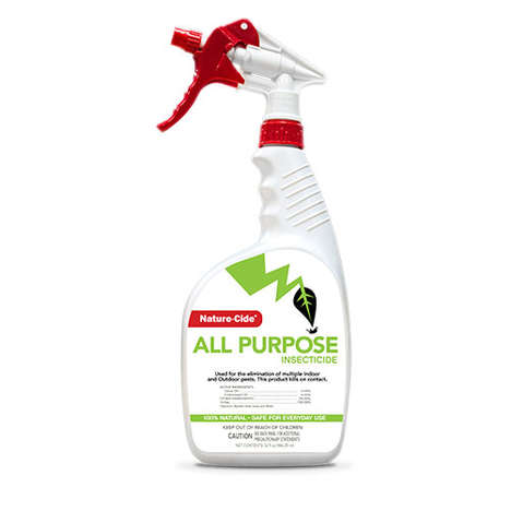 Chemical-Free Insecticides - Nature-Cide's All-Purpose Natural Insecticide Also Wards Off Pests