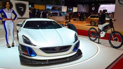 Electrifying Supercar Concepts