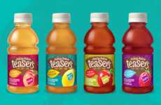 Tea-Infused Juices - Juicy Juice's 'Teasers' are Made by Blending Fruit Juice and Tea