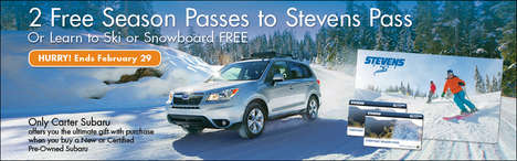 Ski Pass Dealership Promotions