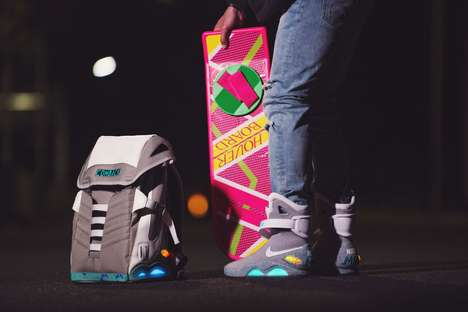 Futuristic Light-Up Backpacks