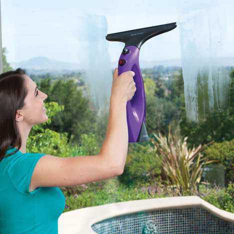 Germ-Killing Window Appliances - The Sienna Visio Window Steam Cleaner Sanitizes and Shines