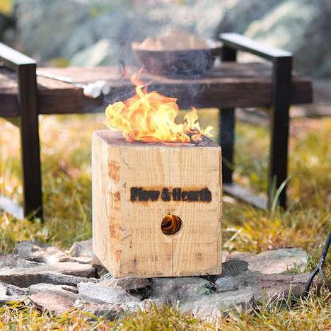 Self-Contained Bonfire Blocks