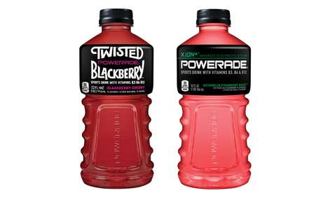 Fruity Sports Drink Flavors