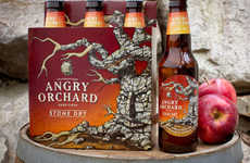 Aggressive Cider Branding - The 'Angry Orchard' Hard Cider Line Boasts Imaginative Names