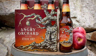 Aggressive Cider Branding