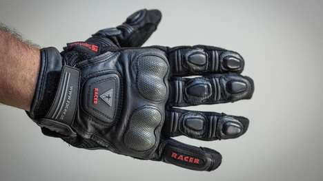 Breathable Motorbike Gloves