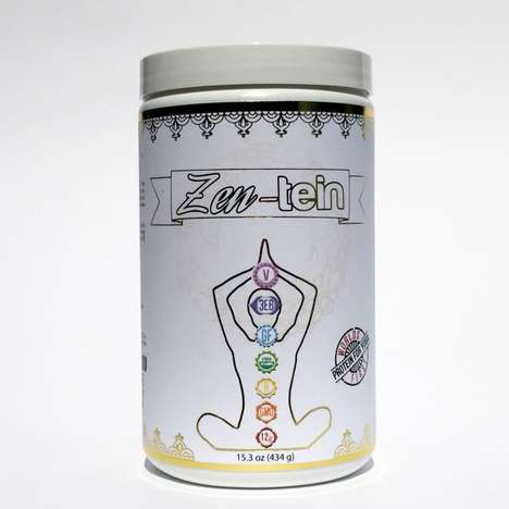 Yoga Protein Powders - Zen-tein is a Healthy Protein Powder Designed to Fit a Yogic Diet