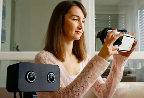 VR Teleconferencing Cameras