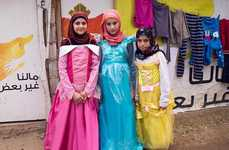 Refugee Princess Photography - Saint Hoax Has Captured Syrian Refugees as Disney Princesses