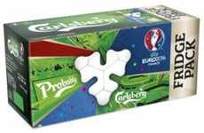 Soccer-Themed Beer Cases - The Limited-Edition Beer Cases from Carlsberg Celebrate UEFA Euro 2016