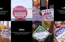 Travel Recommendation Coasters - Star Alliance's #irecommend Helps Guests Find Others' Favorites