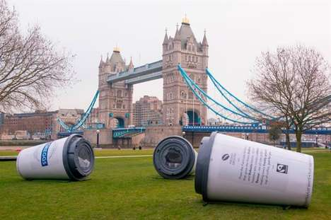 Sleep-Based Brand Activations - This Bold Event from Greggs Promotes Its New Flat White Coffee
