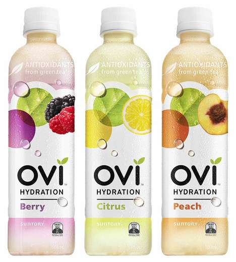 Additive-Free Bottled Teas - OVI Hydration Drinks are Packed with Minerals and Tea Antioxidants