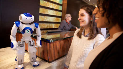 Robot Hotel Concierges