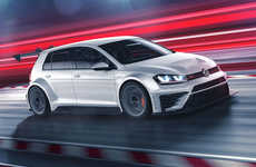 Hatchback Anniversary Vehicles - The New Volkswagen Golf GTI is a Celebratory Limited-Edition Car
