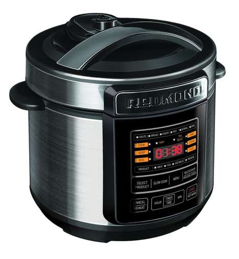Conveniently Quick Meal Preparers - The REDMOND Pressure Multi Cooker Makes Meals Quickly and Easily