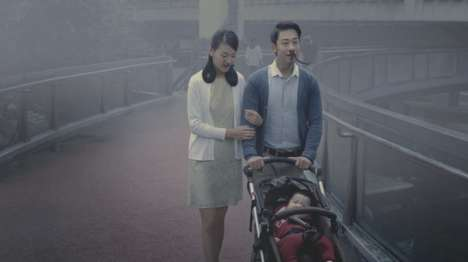 Hairy Pollution PSAs - This Ad by 'WildAid China' Conveys the Dangers of China's Air Polluttion