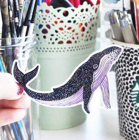 Illustrated Wildlife Stickers