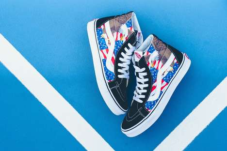 Patriotic Skate Shoes