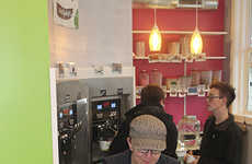 Laundromat Frozen Yogurt Stores - Kenny's Brain Freeze Makes Indulging in Treats a Part of Routine