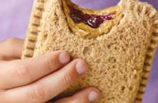 Microwave Jelly Sandwiches - Dr. Praeger's Frozen Sandwiches are Quick to Heat and Eat