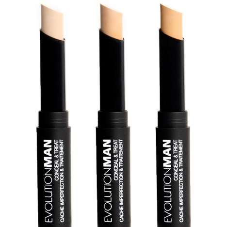 Men's Concealer Sticks - This Concealer for Men by EvolutionMan is Also an Acne Treatment