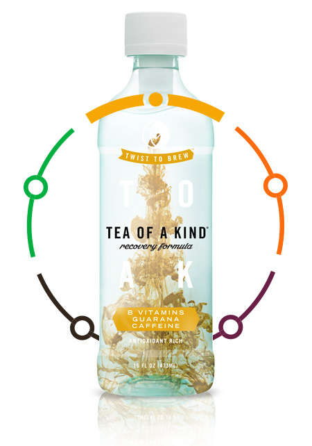 Preserved Vitamin Teas - Tea of a Kind's Flavored Tea Beverages are Enriched with C Vitamins