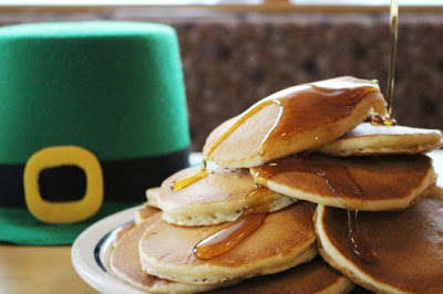 Holiday-Themed Pancake Promotions