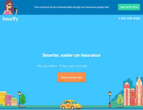 AI Auto Insurance Platforms - Insurify Uses Artificial Intelligence to Suggest Coverage Plans