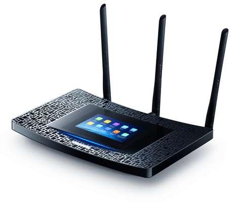Touchscreen WiFi Extenders