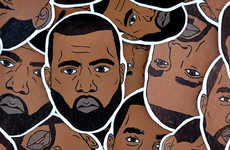 Temporary Rapper Tattoos - Jam Jar Shop's Kanye West Tattoos Celebrate the Controversial Artist
