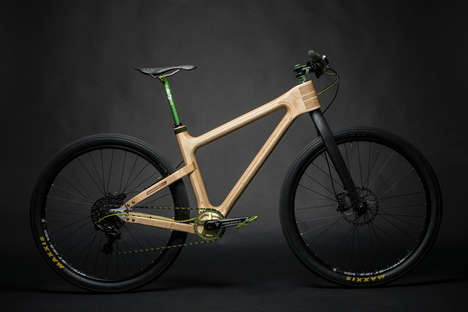 Wooden Frame Bicycles - Grainworks Bicycles are Crafted from Beautiful Wood