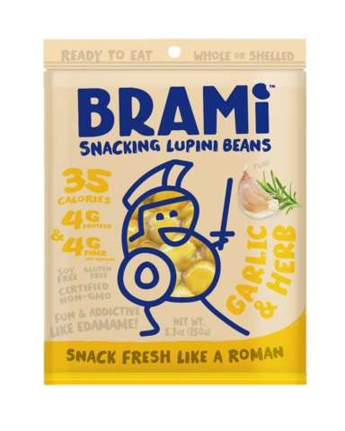 Flavored Bean Snacks - Brami's Lupini Bean Snack Comes in Four Protein-Rich Varieties