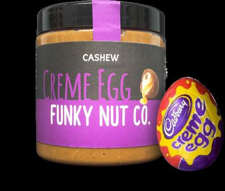 Candy-Flavored Nut Butters - The New Cadbury Creme Egg Nut Butter is a Delicious Easter Treat