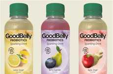 Sparkling Probiotic Drinks - Goodbelly Makes Gut Health Appealing with Fizzy Fruit Flavors