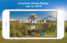 VR Festival Experiences - The Coachella VR App Allows Users to Experience the Festival from Home