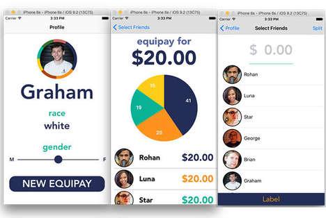 Equality Bill-Splitting Apps