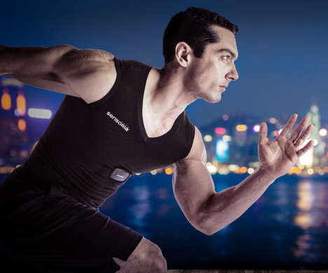 Heart-Monitoring Apparel - The Sensoria Fitness Shirt Places Trackers on the Skin to Scan the Body