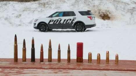 Bulletproof Vehicle Armor