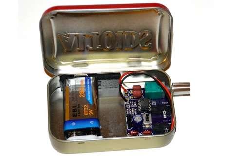 Mint-Inspired Headphone Amplifiers