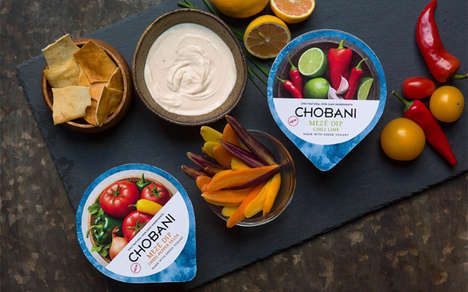 Savory Turkish Dips - The New Chobani Meze Dips are Inspired by Turkish Appetizers