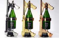 Champagne-Shooting Guns