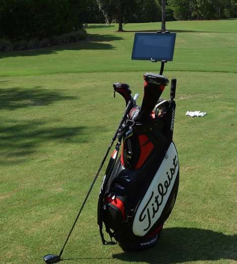 Golf Bag Device Mounts
