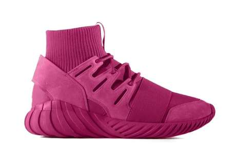 Pink Awareness Sneakers - The Adidas Originals Tubular Doom EQT PINK Boast Breast Cancer Awareness