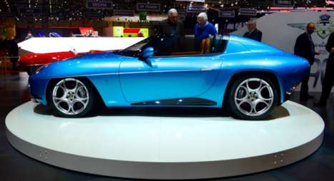 Weather-Thwarting Convertibles - This New Convertible From Alfa Romeo Features Roof Panels