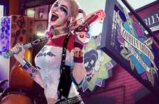 Comic Hero Tattoo Parlors - SXSW 2016 is Hosting a Harley Quinn Tattoo Parlor for Visitors