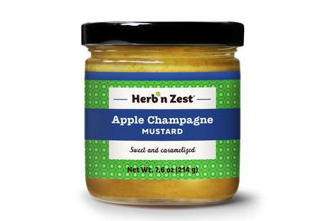 Apple-Infused Mustards