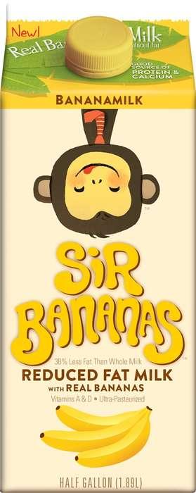 Banana-Flavored Milks