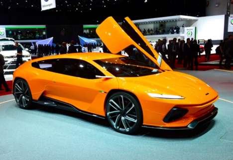 Aerodynamic Concept Cars